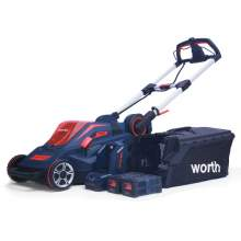 84V Lithium Battery Cordless Self-propelled Lawn Mower Motor 2.5AH 20 Inch