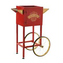 Trolley Cart  for 4 oz. Popcorn Popper Color Red