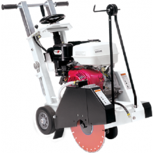 "Diamond Products 18"" Small Walk Behind Saw w/ 11.7HP Honda Engine CC1311HXL-18"
