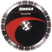 Omega Concrete Saw Blade 10mm Segments