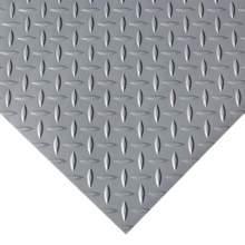 Garage Floor Mat - Diamond - 4 ft. x 20 ft. Gray