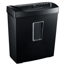 12-Sheet Cross-Cut Shredder Small Office Shredder