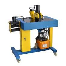 High Stability Hydraulic Busbar Machine 3 In 1 Bender Cutter Puncher