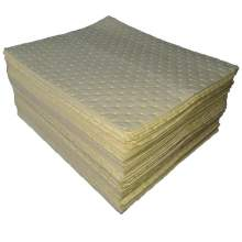 "Chemical Absorbent Pad 15""X19"" Medium Duty 100PK"