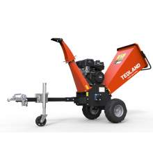 15hp Gasoline Engine Pro Wood Chipper 4.7 inch Capacity