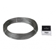 "Galvanized Cable 1/16"" x 250' Capacity 100 Lbs 1x19"