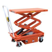 """Electric Scissor Lift Table 1100lbs capacity 64""""Max Lifting Height"""