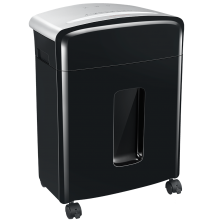 12-Sheet Micro-Cut Shredder with P4 Security level and Pull-out Bin