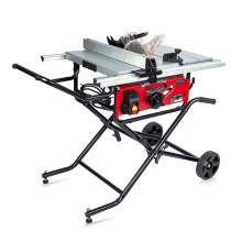 """General International 10"""" Table Saw with Folding Cart"""