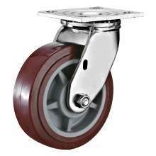 """5"""" Heavy Duty Swivel PU Caster(Roller Bearing) 640 LBS"""