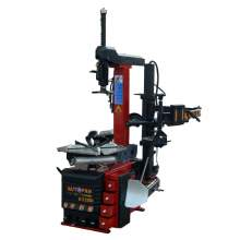 Tire Changer With Pneumatic Tilt-back Post And Right Help Arm