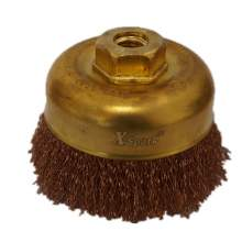 "4"" Non-Sparking Wire Cup Brush"