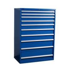"Industrial Modular Drawer Cabinet 40 1/4"" x 22 1/2"" x 57"" 10 Drawers"