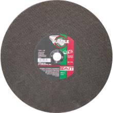 "United Abrasives 14"" X 1/8"" X 1"" Ductile 