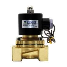 "Pneumatic Solenoid Valve Brass Body Normally Closed 3/4"" NPT 24VDC"