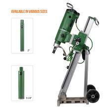 Concrete Core drill Motor 3300W & Drill Rig With 2x Diamond Drill Bits