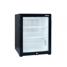 1.9 cu ft Silent Mini Refrigerator for Hotel Glass Door 12V