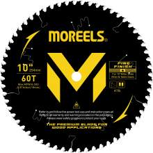10 Inches Circular Saw Blade 60 Tooth 5/8'' Arbor Fine Finish