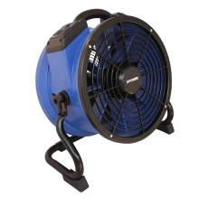 XPOWER X-35AR Heat Resistant Axial Air Mover Fan w/ Power Outlets