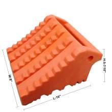 Plastic Structural Foam Wheel Chock&Tire Chock 10''Lx8''Wx5-7/10''H
