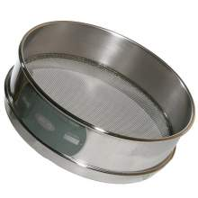 Dia 300 mm Stainless Steel Standard Sieve Bottom and Cover