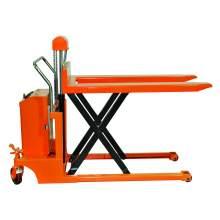 Bolton Tools Hydraulic Hand Electric Scissor Pallet Truck | 1100 lb | EQSD50
