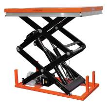 Bolton Tools Industrial Hydraulic Electric Lift Table | 2200 lb | ETW1001