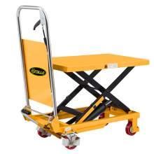 "Manual Single Scissor Lift Table 330 lbs 29"" Lifting Height"