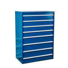 "Industrial Modular Drawer Cabinet 40 1/4"" x 22 1/2"" x 57"" 8 Drawers"