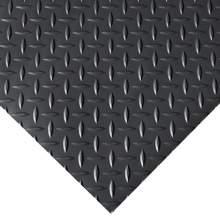 Garage Floor Mat - Diamond - 4 ft. x 30 ft. Black