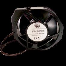 6.77'' Axial Fan, Ac Axial Fan, 50/60Hz, 1ph, 230cfm, lead wires