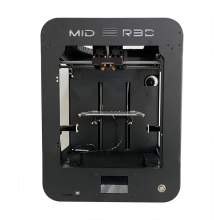 Mid Pro FDM 3D Printer with Print Size 205 x 205 x 250 mm
