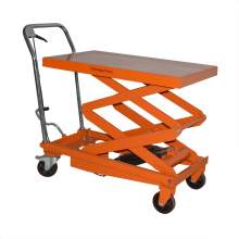 Bolton Tools Hydraulic Double Scissor Lift Table Cart | 770 lb | TF35