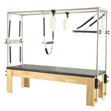 Pilates Cadilac Reformer Wooden Bed Complete Boundle