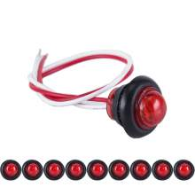 3/4'' Bullet Marker Lights Led for RV Trailer