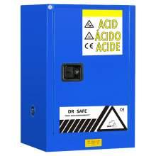 "Acid And Corrosive Cabinet 12 Gallon 35"" x 23"" x 18"" Manual Door"