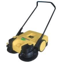 """30"""" Semi-Auto Walk-behind Floor Sweeper 13.2GAL Dustbin"""