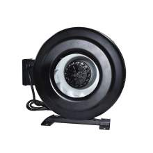 """Steel Circular Inline Duct Fan Fits Duct Dia 10"""" Voltage 120V with ETL Listed"""