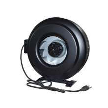 """Steel Circular Inline Duct Fan Fits Duct Dia 12"""" Voltage 120V with ETL Listed"""