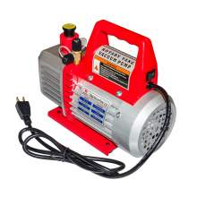 1.8 CFM Single-Stage Vacuum Pump 1/4 Hp for HVAC/Auto AC Refrigeration