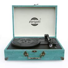 Record Player with Speakers Vinyl Record Player Suitcase Turntables