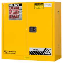 "Flammable Cabinet 30 Gallon 44"" x 43"" x 18""  Self-Closing Door"