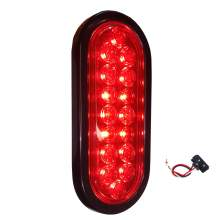 Led Trailer Stop Tail Light 6 Inch Oval SAE DOT Approved