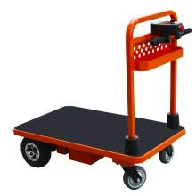 "Battery Powered Platform Truck 660 lbs 39 X 23"" Platform"