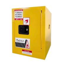 """4 Gallon Flammable Safety Cabinet Manual Close Door 22"""" x 17"""" x 17"""""""