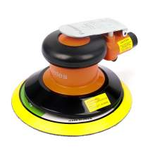 "6"" Air Palm Random Orbital Sander Dual Action Pneumatic Polisher"