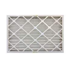 Synthetic Pleated Air Filters MERV13 18 in. x 30 in. x 1 in. Qty 8