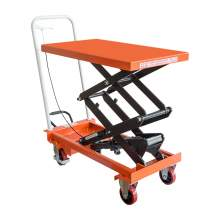 "IDEAL LIFT Double Scissor Lift Table 800 lbs 53.1"" lifting height"