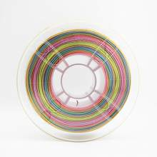 1.75mm PLA SILK Rainbow Filament 1kg/2.2Lbs for 3D Printer