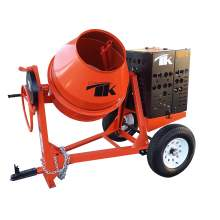 12 cu. ft. Concrete Mixer w/6.4 HP Yanmar Diesel Electric Start